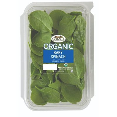 Sprouts Organic Baby Spinach