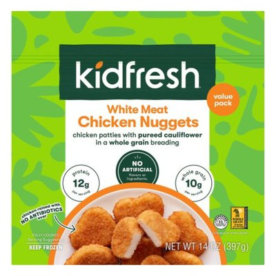 Kidfresh Chicken Nuggets, White Meat, Value Pack