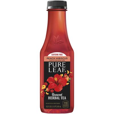 Pure Leaf Peach Hibiscus Brewed Herbal Tea