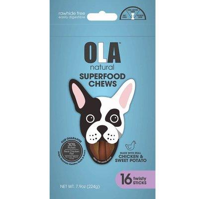 Ola Chew & Sweep Twist Dog Toy