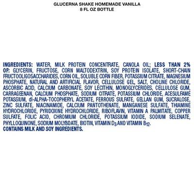 Glucerna Diabetes Nutritional Shake Homemade Vanilla