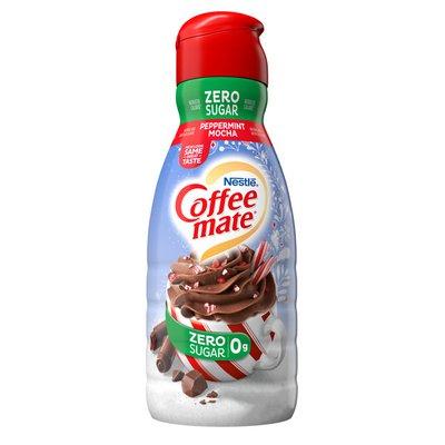 Coffee mate Zero Sugar Peppermint Mocha Liquid Coffee Creamer