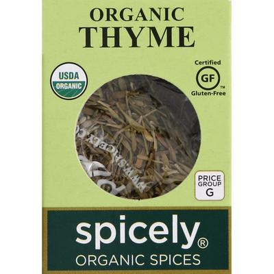 Spicely Organics Thyme, Organic