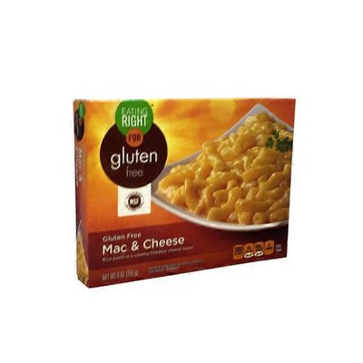 Eating Right Mac & Cheese Rice Pasta In A Creamy Cheddar Cheese Sauce