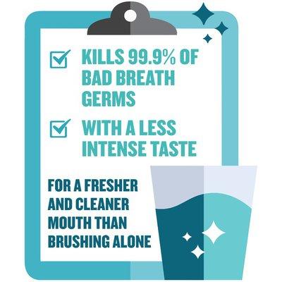 Listerine Zero Alcohol Cool Mint Mouthwash