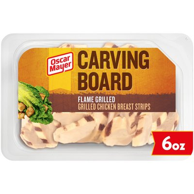 Oscar Mayer Flame Grilled Chicken Breast Strips