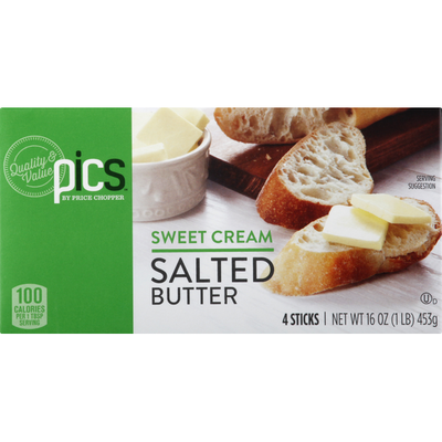 PICS Sweet Cream Salted Butter Quarters