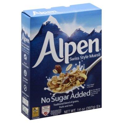 Alpen Swiss Style Muesli No Sugar Added