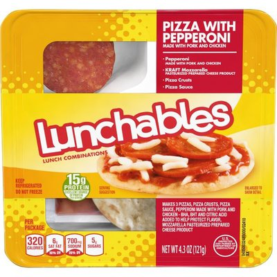 Lunchables Pizza with Pepperoni Meal Kit