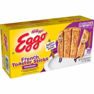 Eggo Frozen French Toast Sticks, Frozen Breakfast, All Day Kids Snacks, Cinnamon