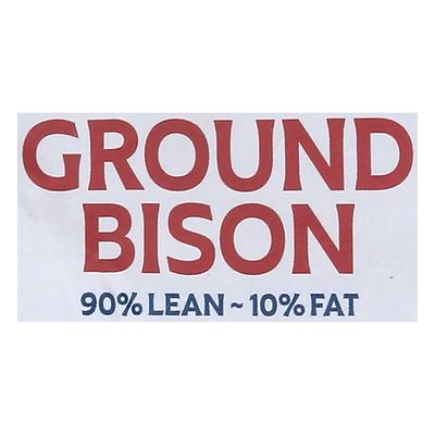 Great Range Buffalo Bison, Ground, 90%/10%