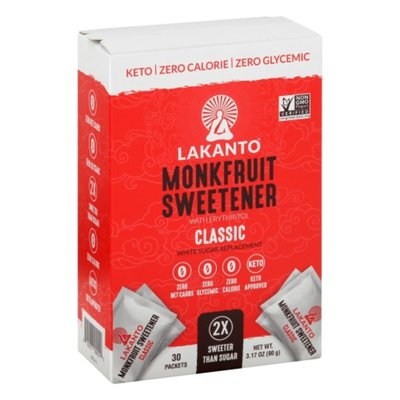 Lakanto Sweetener, Monkfruit, with Erythritol, Classic