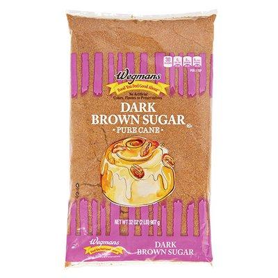 Wegmans Food You Feel Good About Dark Brown Sugar, Pure Cane