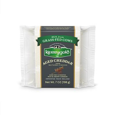 Kerrygold Grass-Fed Aged Irish Cheddar,