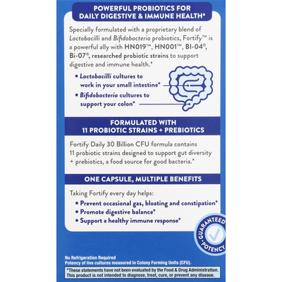 Nature's Way Daily Probiotic, + Prebiotics, Delayed-Release Veg. Capsules