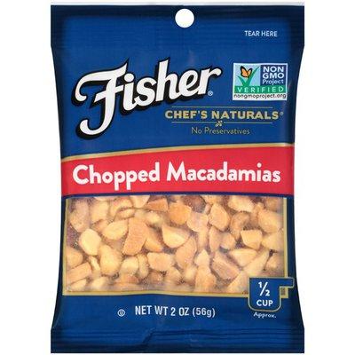 Fisher Macadamias, Chopped