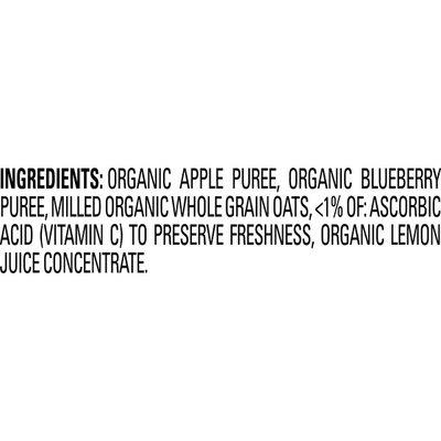Happy Baby Apples, Blueberries & Oats