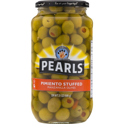 Pearls Pimiento Stuffed Manzanilla Olives