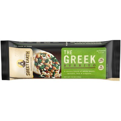 Sweet Earth The Greek Burrito