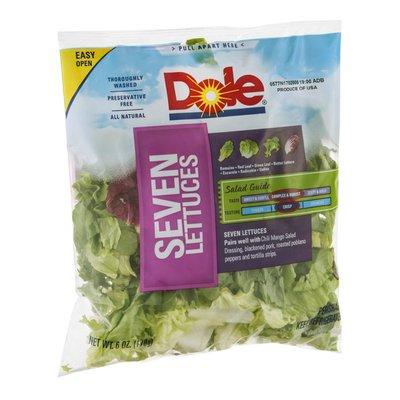 Dole Salad Seven Lettuces