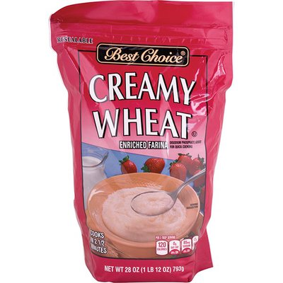 Best Choice Creamy Wheat Enriched Farina