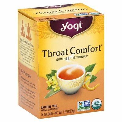 Yogi Tea Herbal Tea, Throat Comfort Tea, Soothes the Throat