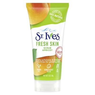St. Ives Scrub Apricot, Deeply Cleans, Smooth And Glowing Skin, Dermatologist-tested, Natural Exfoliants