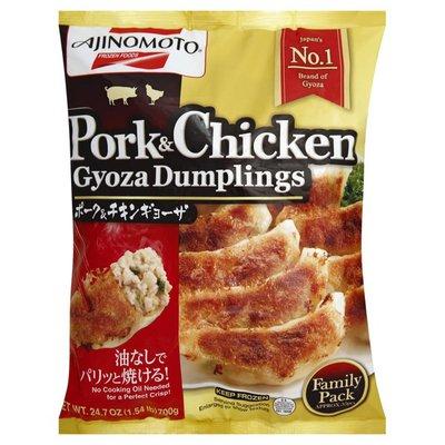 Ajinomoto Gyoza Dumpling, Pork & Chicken, Family Pack