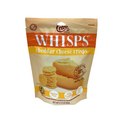Cello Whisps Cheddar Cheese Crisps