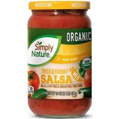 Simply Nature Medium Organic Salsa