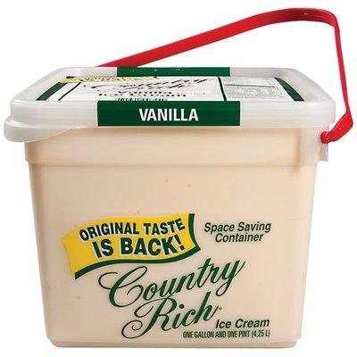 Country Rich Vanilla Flavored Sg Ice Cream