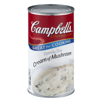 Campbell's Family Size Cream of Mushroom Soup