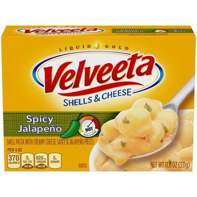 Kraft Velveeta Spicy Jalapeño Shells & Cheese
