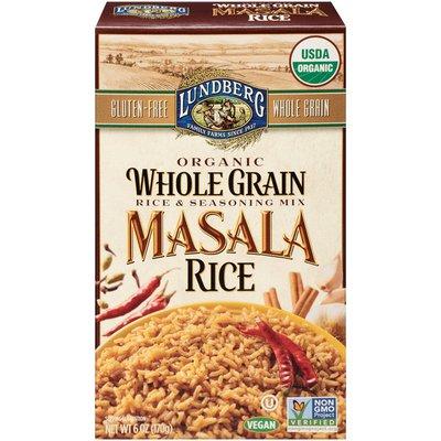 Lundberg Family Farms Organic Whole Grain Masala Rice & Seasoning Mix