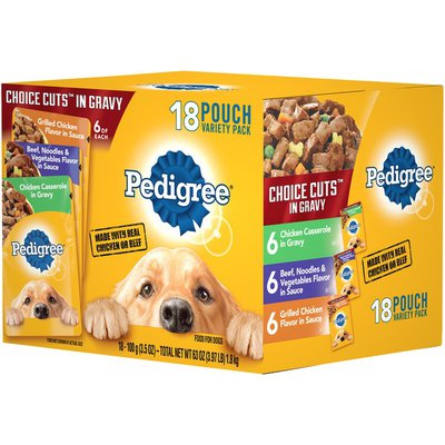 Pedigree Choice Cuts in Gravy Dog Food Variety Pack