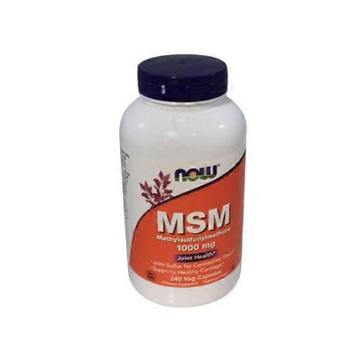 Now MSM Joint Sulfur Capsules