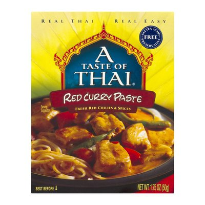 A Taste of Thai Red Curry Paste