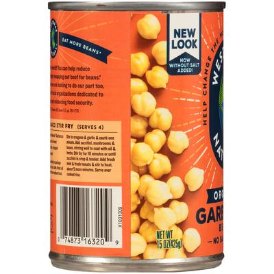 Westbrae Natural Organic Garbanzo Beans
