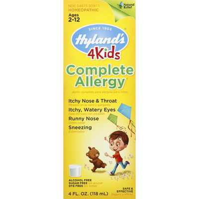 Hyland's Complete Allergy, Ages 2-12