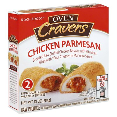 Koch Foods Chicken Parmesan Filled with Four Cheeses in Marinara Sauce - 2 CT