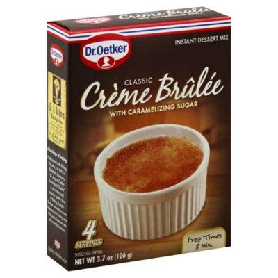 Dr. Oetker Instant Dessert Mix, Classic Creme Brulee