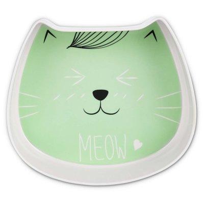 Harmony Melamine Cat Face Mint