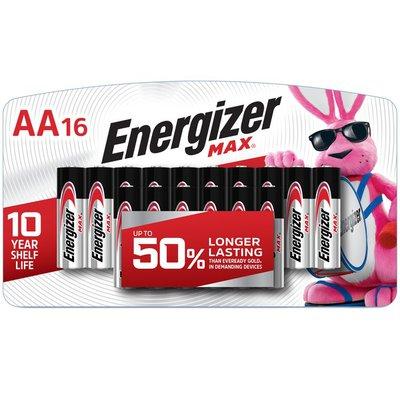 Energizer AA Batteries, Double A Alkaline Batteries