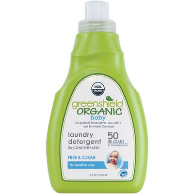 GreenShield Organic Free & Clear Baby Laundry Detergent