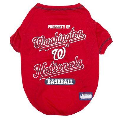 Pets First Medium Wash Nationals Tee Shirt