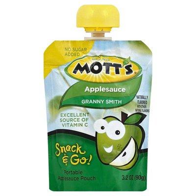 Mott's Snack & Go, Applesauce, Granny Smith, Pouch