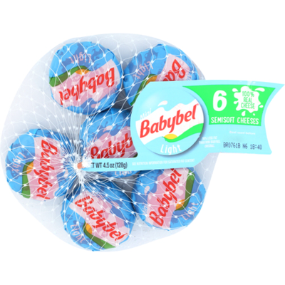 Mini Babybel Light Semisoft Cheese