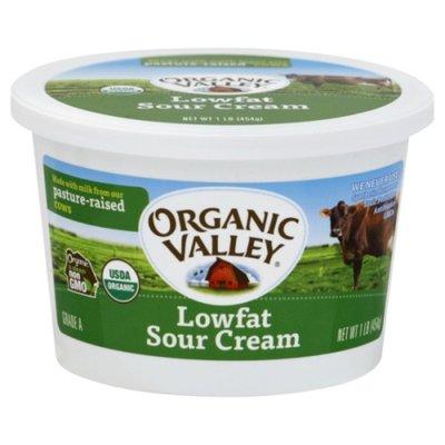 Organic Valley Organic Low Fat Sour Cream
