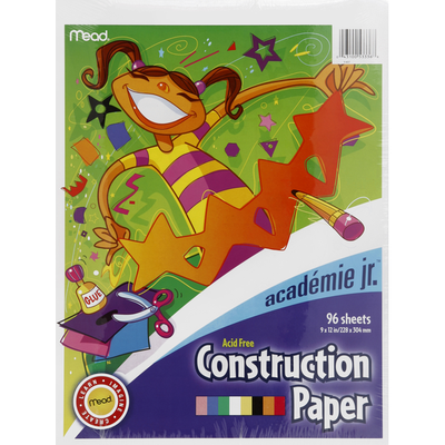 Academie Construction Paper, Acid Free