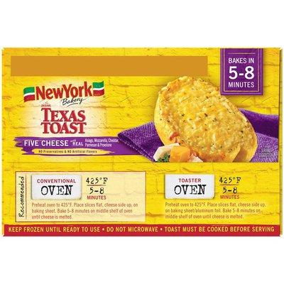 New York Bakery The Original Five Cheese Texas Toast